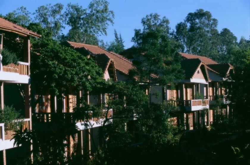 H tel pilgrimage village   vietnam hu    exterieur habitations slideshow