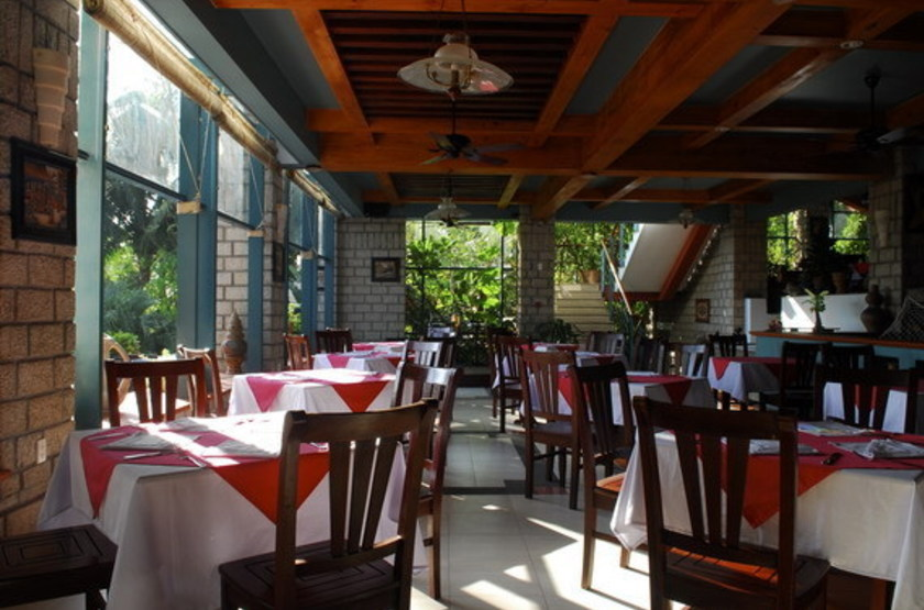 Hoang Ngoc Hôtel, Dong Van, Vietnam, restaurant