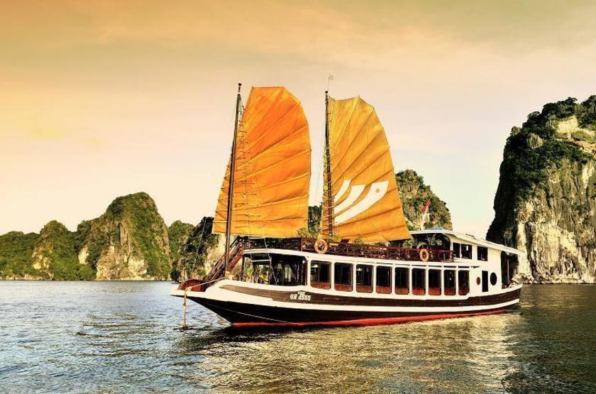 Jonque bhaya   vietnam halong   legend2 slideshow