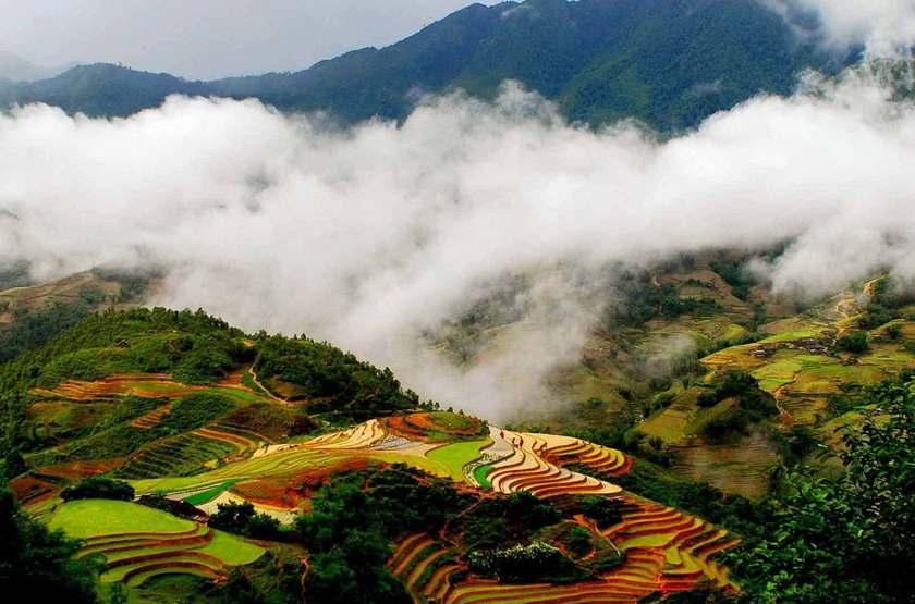 Bamboo Sapa Hotel,  Sapa, Vietnam, paysage