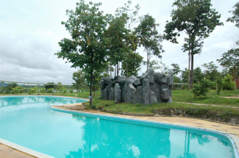 Dakruco Hotel, Buon Me Thuot, Vietnam, piscine