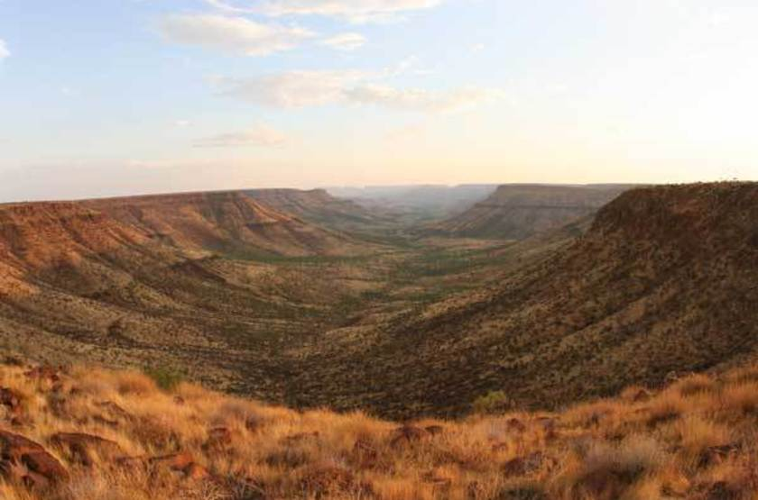 Grootberg Lodge, Namibie, paysage
