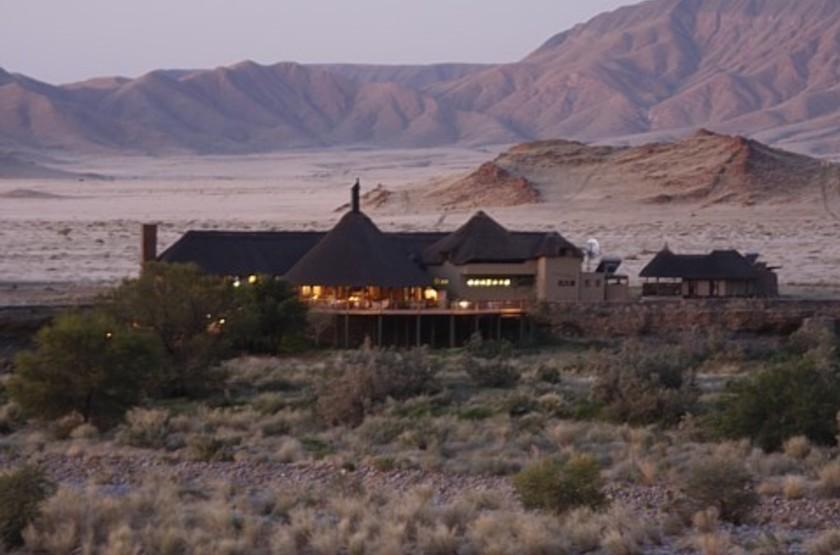 Hoodia Desert Camp, Sossusvlei, Namibie, extérieur