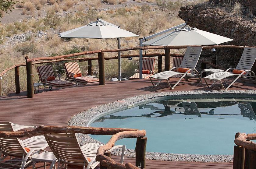 Hoodia Desert Camp, Sossusvlei, Namibie, piscine
