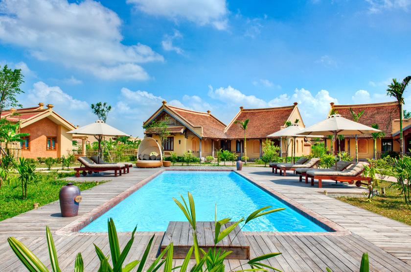 Emeralda Resort, Ninh Binh, Vietnam, piscine
