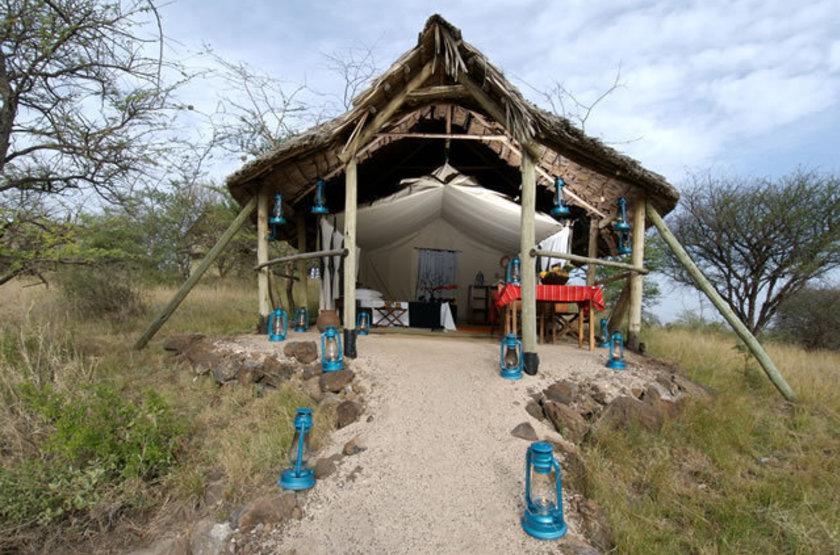 Kambi Ya Tembo Camp, Elerai, Tanzanie, tente