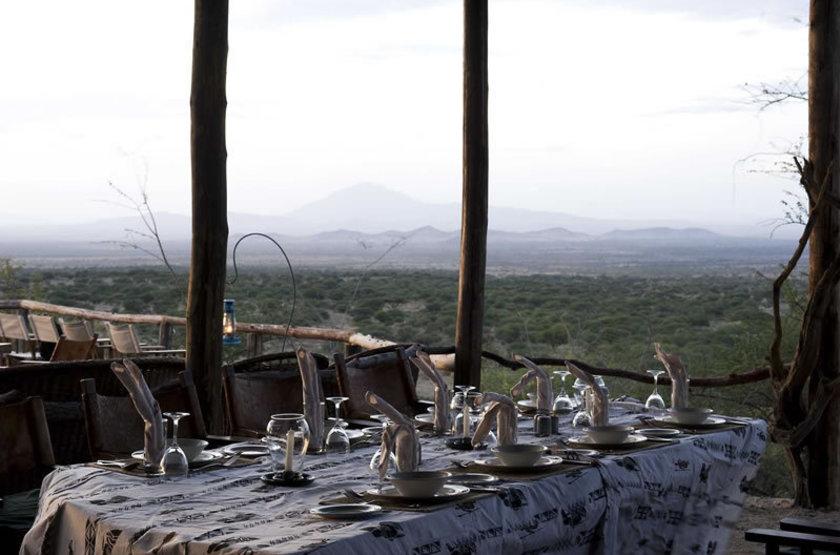 Kambi Ya Tembo Camp, Elerai, Tanzanie, restaurant