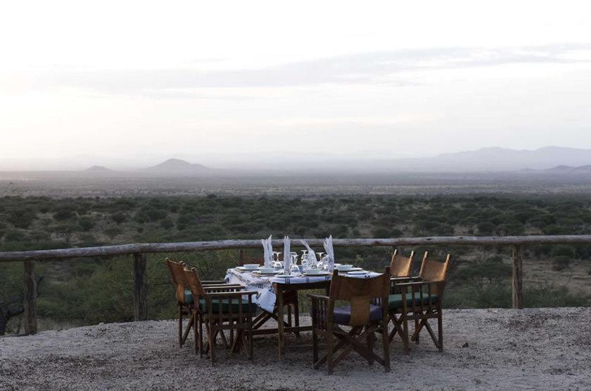 Kambi Ya Tembo Camp, Elerai, Tanzanie, vue sur le Kilimandjaro