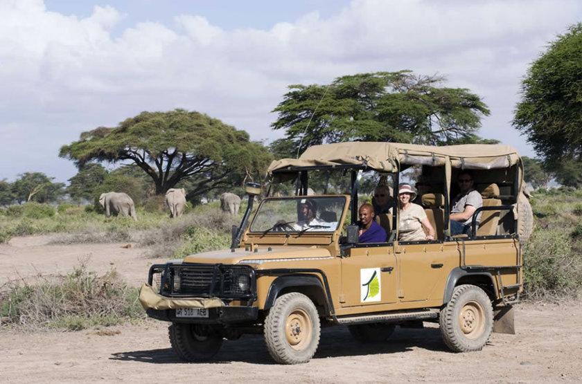 Kambi ya tembo west kilimanjaro tanzania   safari en 4x4 slideshow