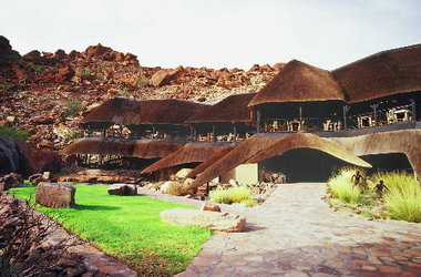 Twyfelfontein country lodge   damarland namibie   lodge listing