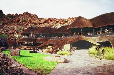 Twyfelfontein country lodge   damarland namibie   lodge listing