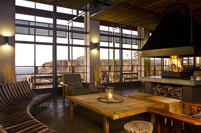 Fish River Lodge, Fish River Canyon, Namibie, salon