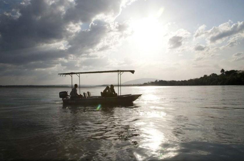Greystoke Camp Mahale, lac Tanganyika, Tanzanie, balade en bateau