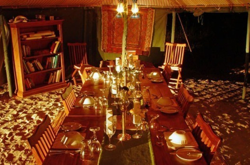 Chada katavi camp   katavi tanzanie   restaurant slideshow