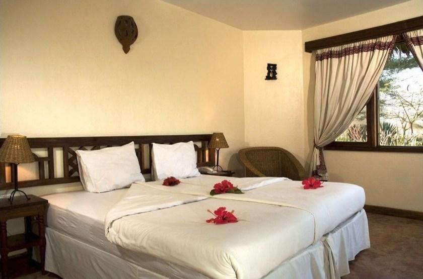 Kia Lodge, Arusha, Tanzanie, chambre