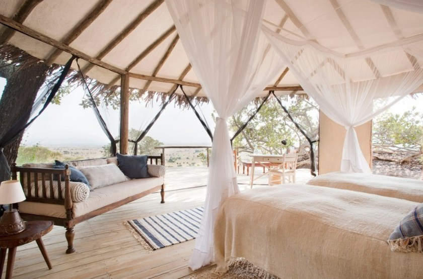 Lamai camp   serengeti tanzanie   interieur tente slideshow