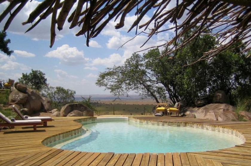 Lamai camp   serengeti tanzanie   piscine slideshow