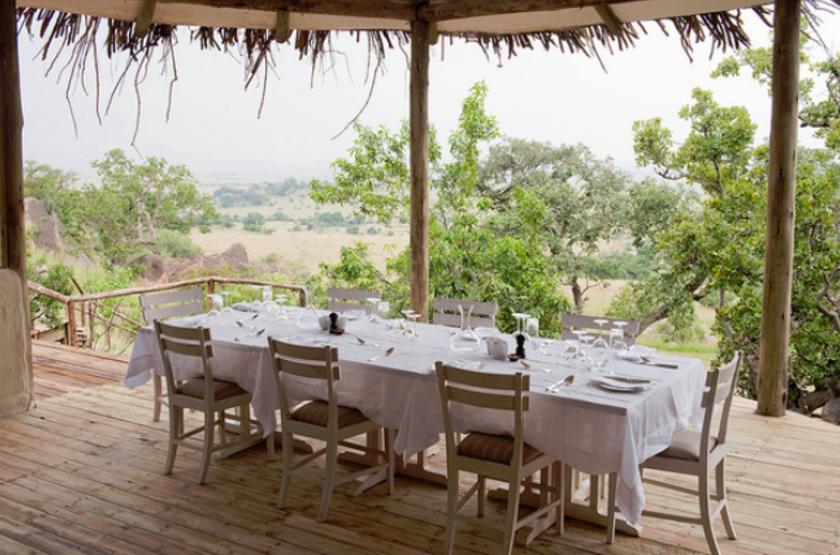 Lamai camp   serengeti tanzanie   restaurant slideshow