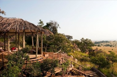 Lamai camp   serengeti tanzanie   terrasse listing