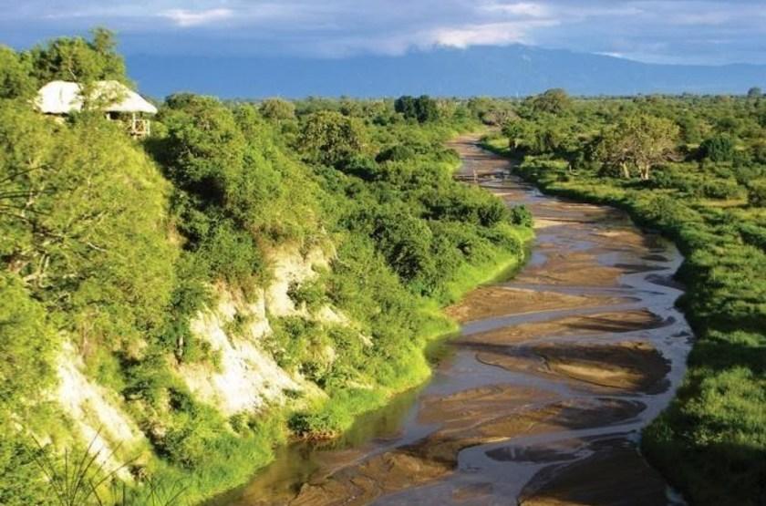 Tarangire River Camp, Tanzanie, rivière Tarangire