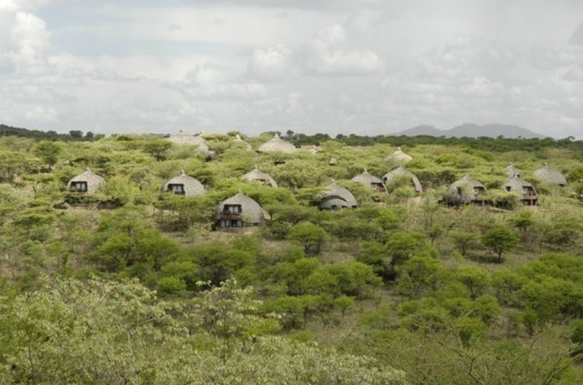 Serengeti Serena Lodge, Tanzanie, vue d'ensemble