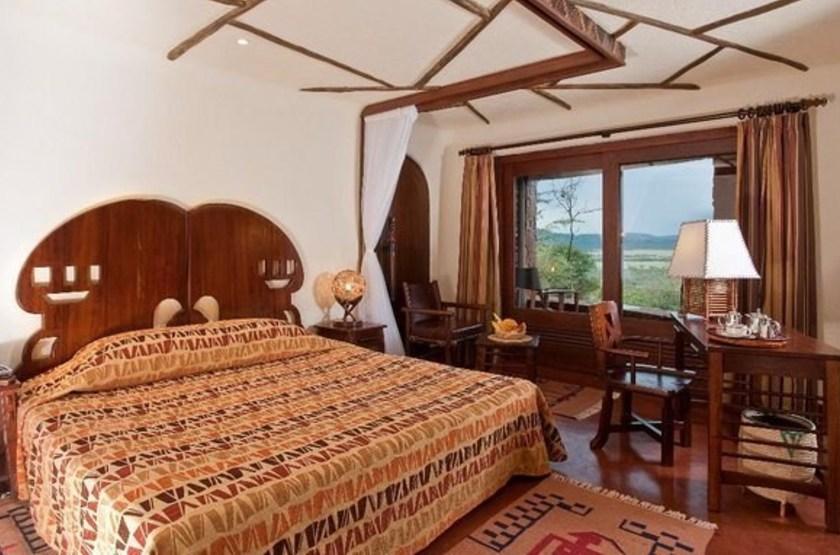 Serengeti Serena Lodge, Tanzanie, chambre