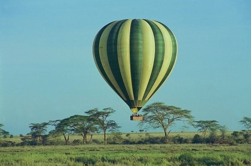 Serengeti Serena Lodge, Tanzanie, survol en montgolfière