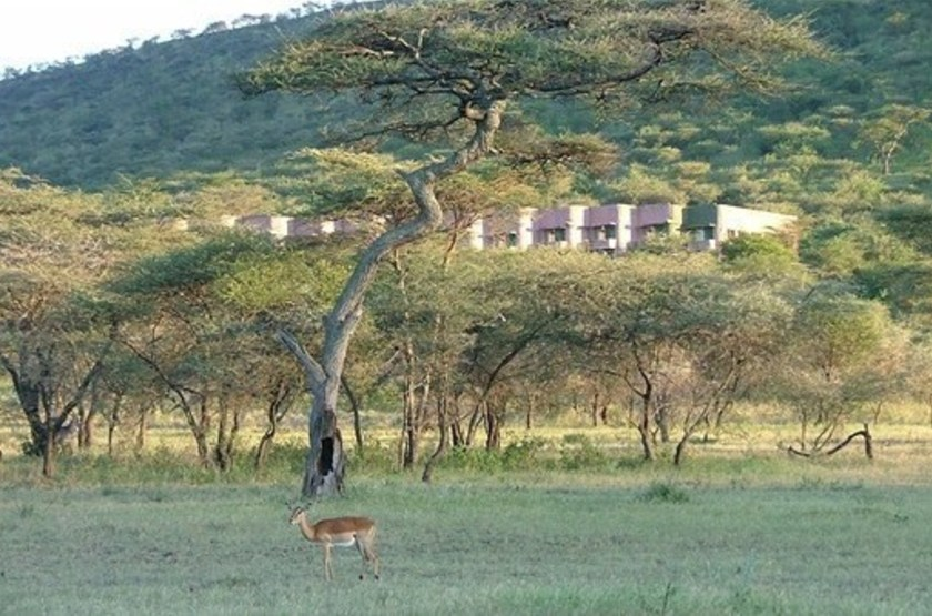Serengeti Sopa Lodge, Tanzanie, vue d'ensemble