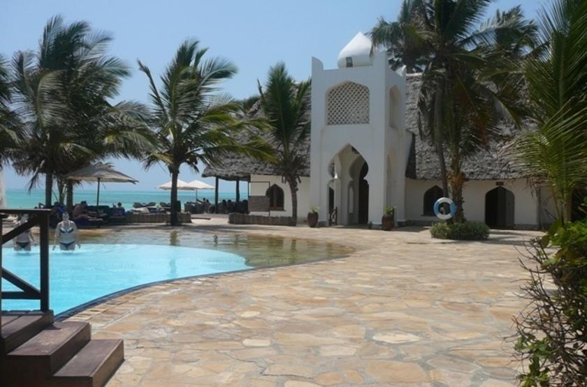 Sultan Sands Island Resort hôtel, Kiwenga, Zanzibar, piscine