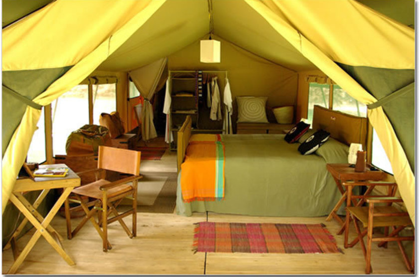 Lemala mara tented camp   serengeti national park  tanzania   tente interieur slideshow