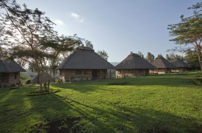 Neptune Ngorongoro Lodge, Tanzanie, jardin