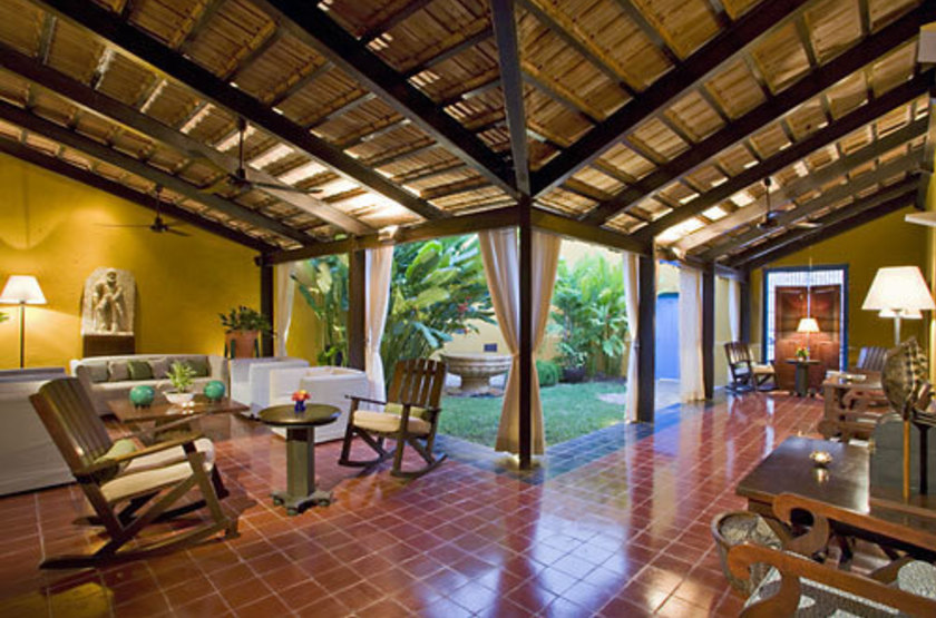 Puerta Campeche Hacienda, Campeche, Mexique, lobby