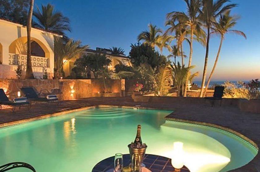 Santa Cruz Hacienda, Mérida, Mexique, piscine