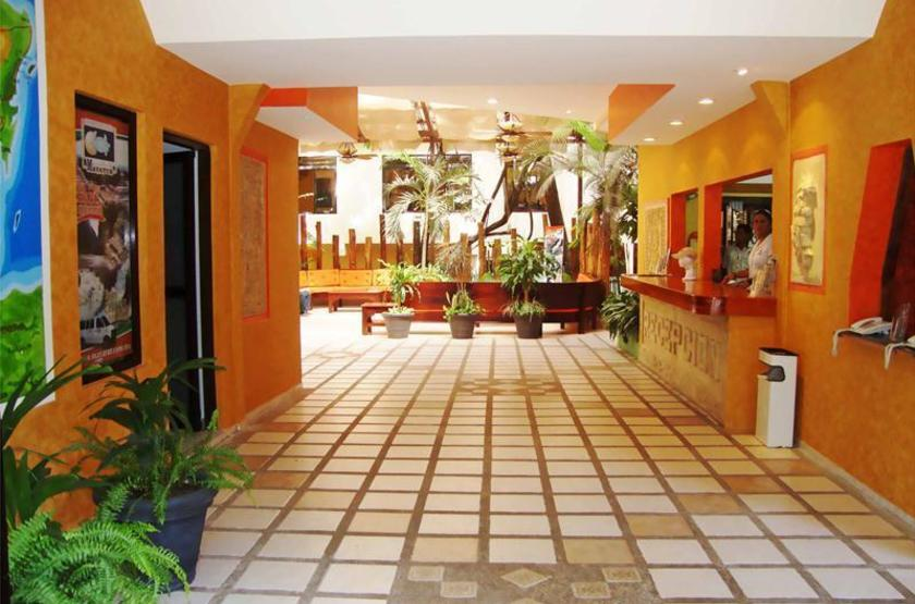Hotel Maya Tulipanes, Palenque, Mexique, reception