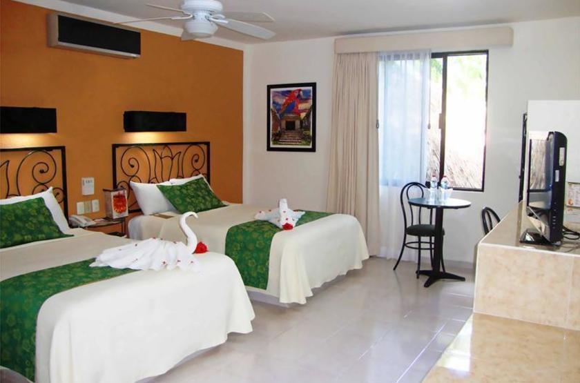 Hotel Maya Tulipanes, Palenque, Mexique, chambre