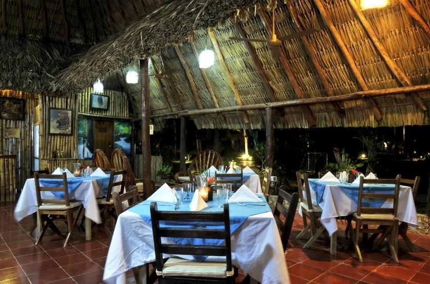 Rancho Encantado, Bacalar, Mexique, restaurant