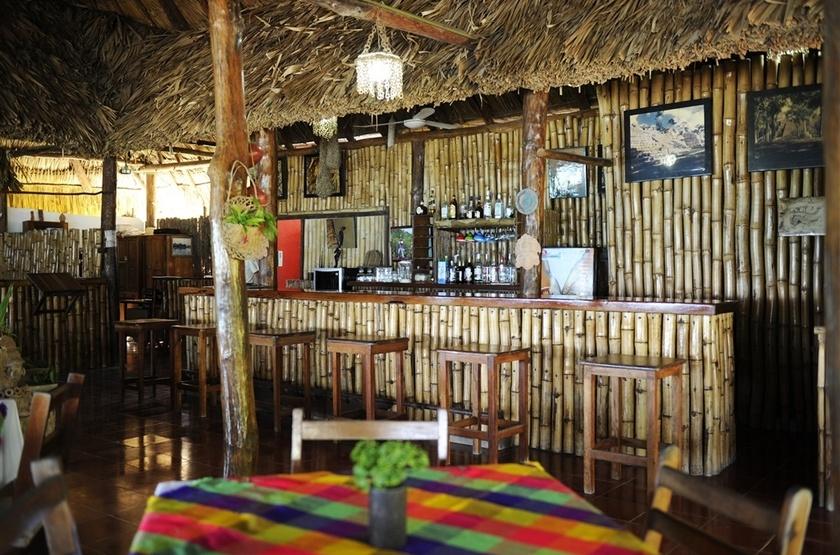 Rancho Encantado, Bacalar, Mexique, bar