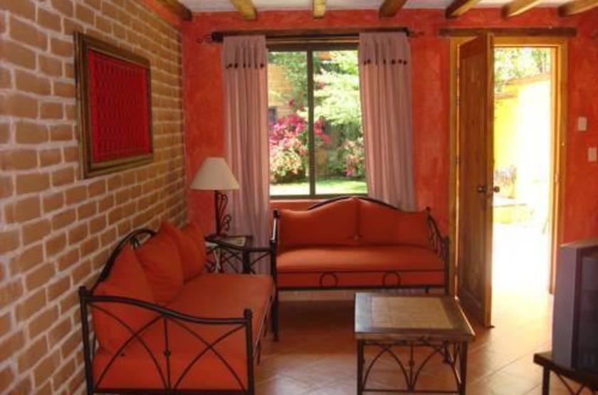 Villa casa morada   san cristobal mexique   chambre salon slideshow