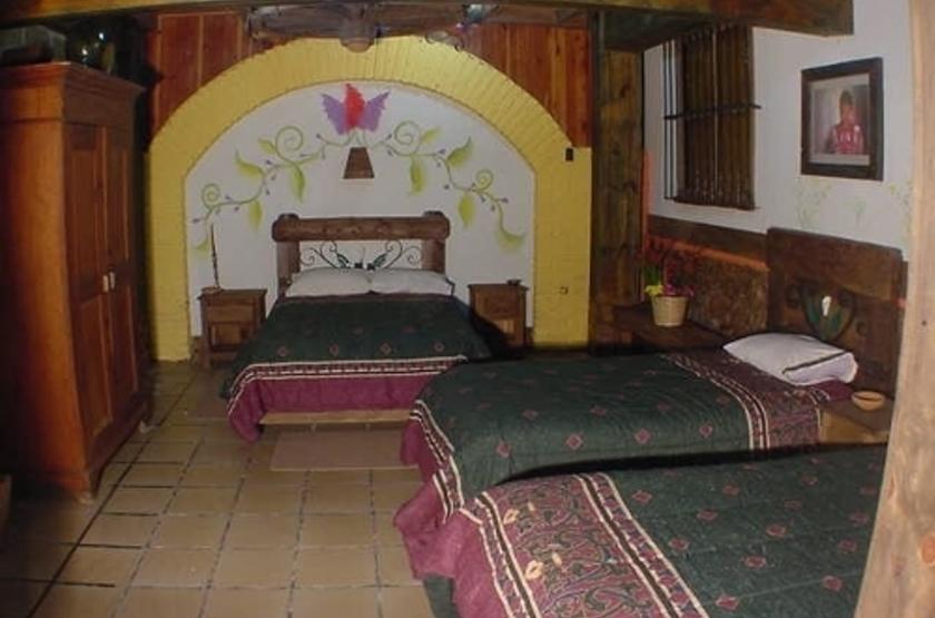 Hotel Hacienda Don Juan, San Cristobal de Las Casas, Mexique, chambre