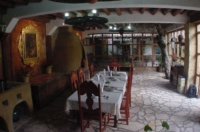 Hotel Hacienda Don Juan, San Cristobal de Las Casas, Mexique, restaurant