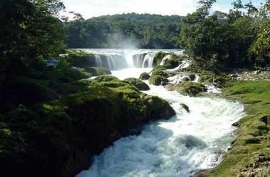 Las nubes ecotourism centre   chiapas  maravillas mexique   las nubes falls listing