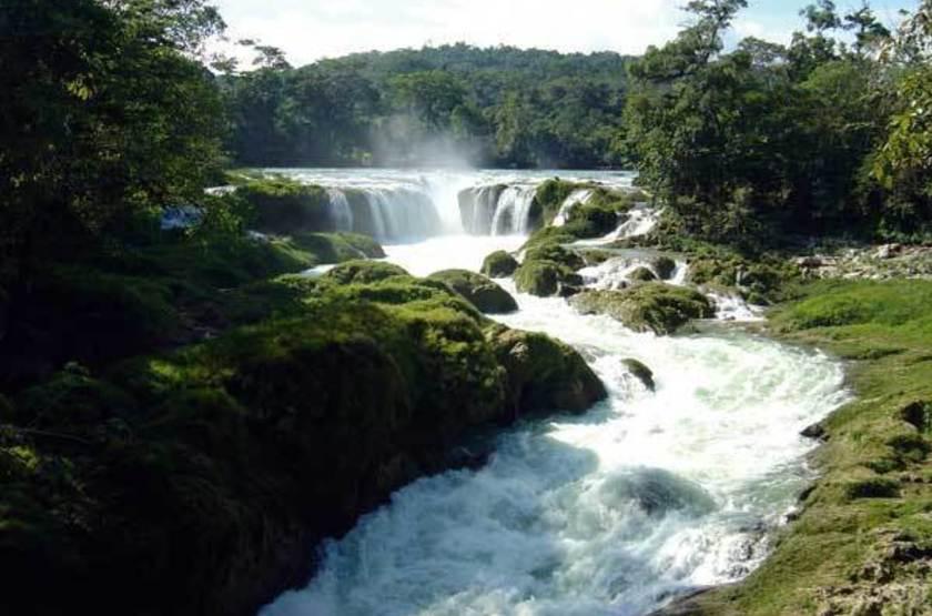 Las nubes ecotourism centre   chiapas  maravillas mexique   las nubes falls slideshow