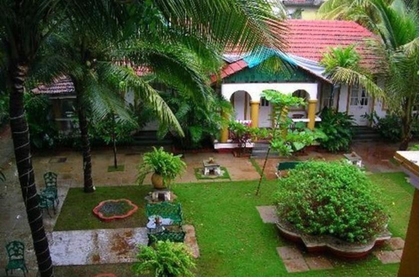 Casa Anjuna, Goa, Inde, jardins
