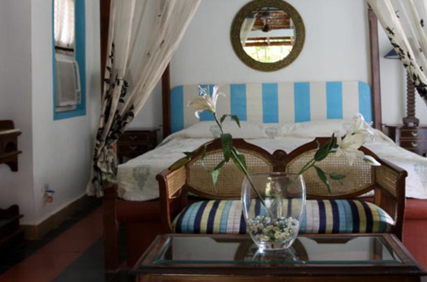 Casa Anjuna, Goa, Inde, chambre