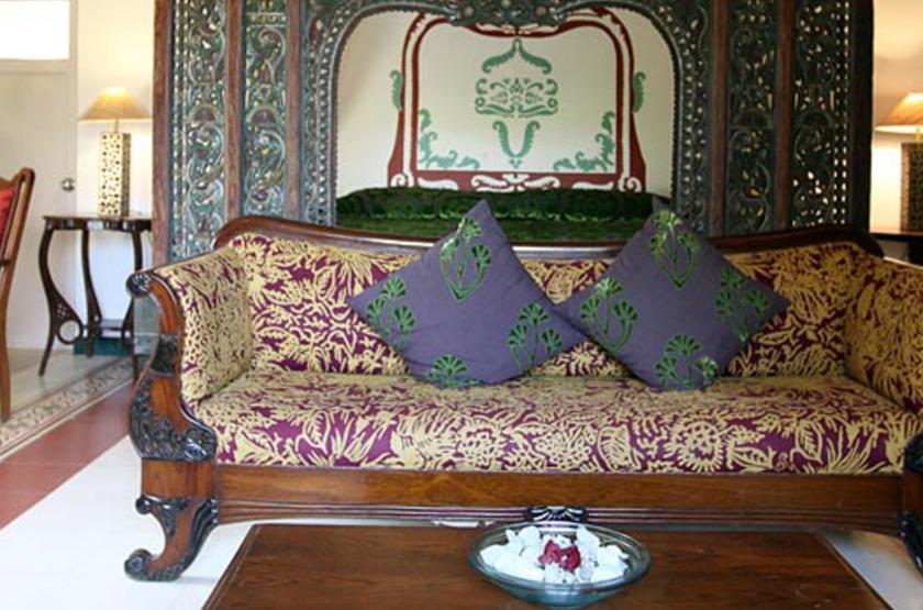 Casa Anjuna, Goa, Inde, salon