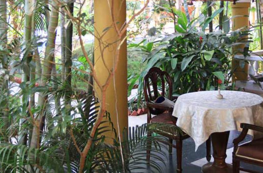 Casa Anjuna, Goa, Inde, restaurant