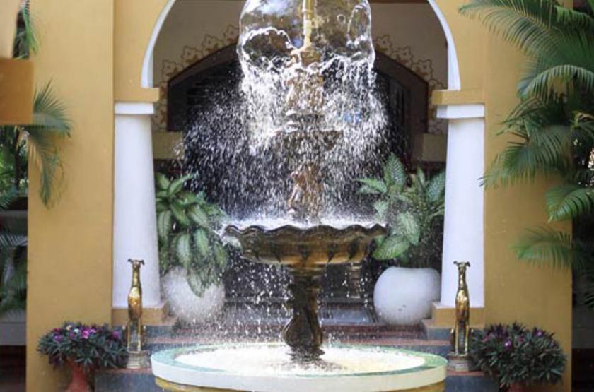 Casa Anjuna, Goa, Inde, fontaine
