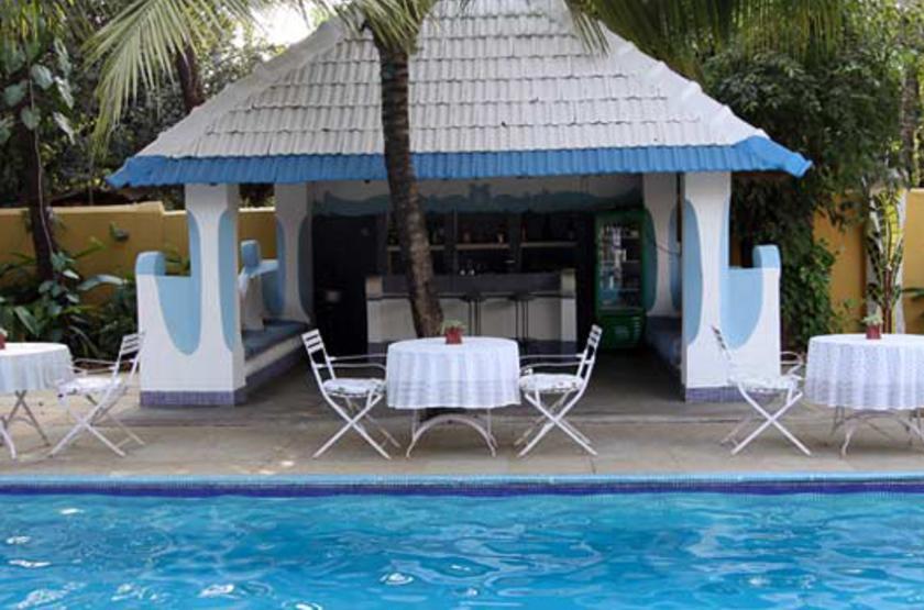 Casa Anjuna, Goa, Inde, piscine