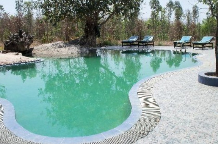Singinawa Jungle Lodge, Parc de Kanha, piscine