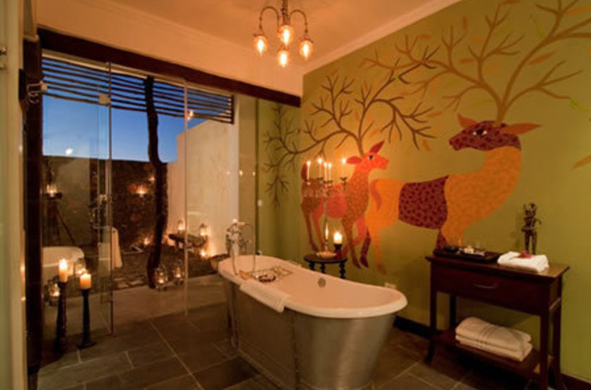 Samode safari lodge   bandhavgar national park inde   salle de bain slideshow